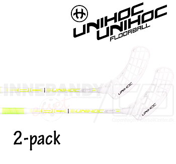 UNIHOC Epic Top Light II 26 white/yellow 2-pack