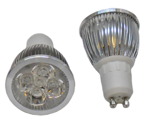 LED Spotlight 5x1W GU10 Varmvit