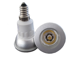 LED Spotlight 1x1W E14 JDR Varmvit