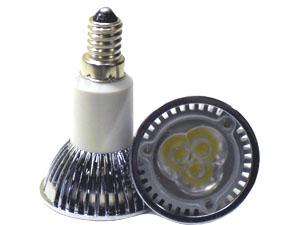 LED Spotlight 3x1W E14 JDR Varmvit