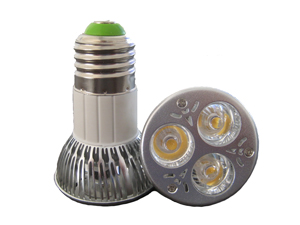 LED Spotlight 3x2W E27 JDR Varmvit