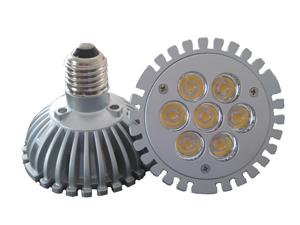LED Spotlight PAR30 7x2W E27 Varmvit