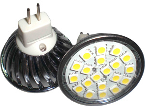 LED Spotlight SMD5050 GU5,3 Varmvit