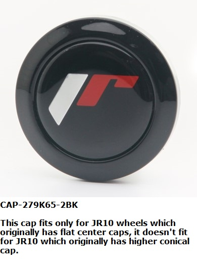 Centrumkåpa - Japan Racing Wheels