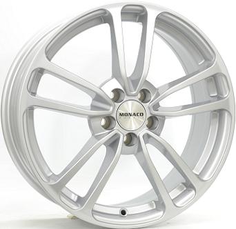 """16"""" MONACO CL1 - Silver 6,5x16 - ET45"""
