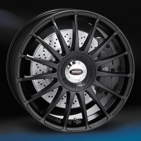 "18"" TD Monza Carbone - Carbone"