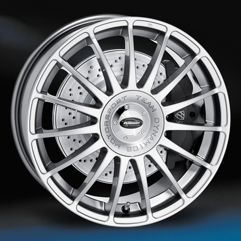 "18"" TD Monza R - Hyper silver"