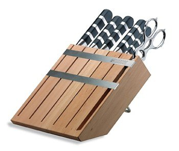 Knife block Dick 8197100 with 4 knives/fork/scissors