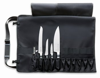 Knife roll Dick 8199400 with 4 knives/pealer