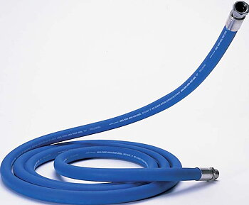 Hose rubber TK13, blue/white (95 °C) (5,8 m)