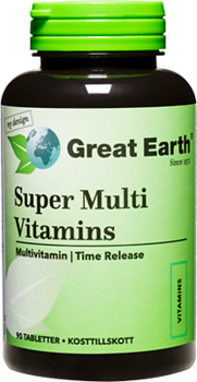 Great Earth Super Multi Vitamins, 90 таблеток