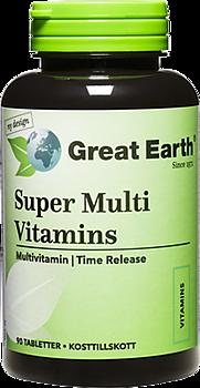 Great Earth Super Multi Vitamins, 90 таблеток