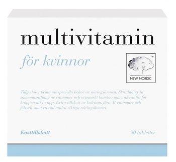 Мультивитамины для женщин (Multivitamin för Kvinnor), 90 таблеток