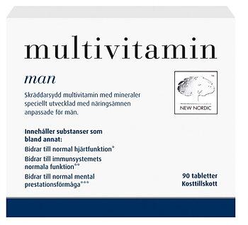 Мультивитамины для мужчин (Multivitamin Man), 90 таблеток