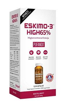 Eskimo-3 High 65% (Омега -3 ), 120 капсул