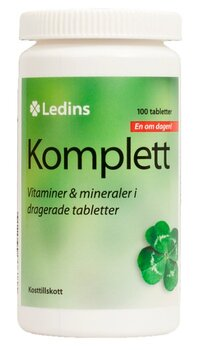 Ledins Koplett поливитамины, 100 таблеток
