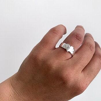 Ring Älskad silver