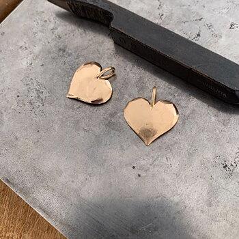 Hänge Älskad hjärta guld 20 mm