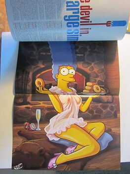 Playboy 2009 11 November Simpsons