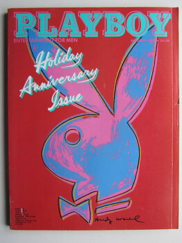 Playboy 1986 01 January Andy Warhol cover