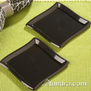 Square Slide plate.  Black.. 10 pcs.