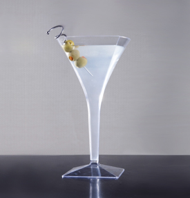 Martini glass. 6 pieces.