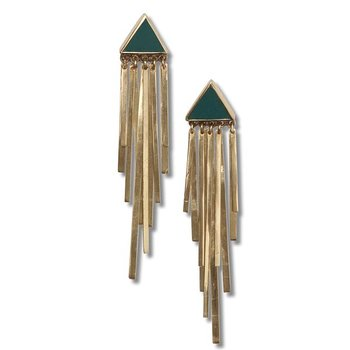 Stardust Golden Earrings
