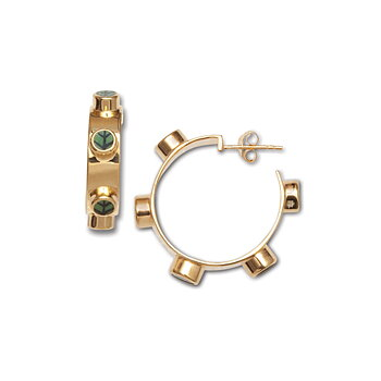Berså Exclusive Golden L Hoops - Online exclusive