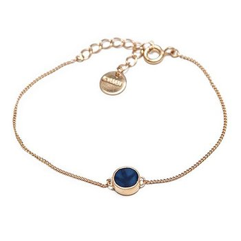 Swedish Grace Golden Midnatt Bracelet - Nu 30% off