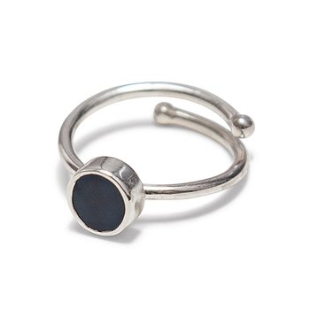 Swedish Grace Midnatt Ring - Nu 30% off