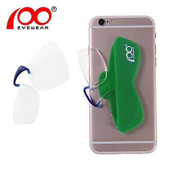 Ultralätta portabla patenterade läsglasögon