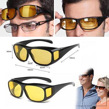 Glasögon -Nightvision -Antibländning -kan också användas ovanpå de vanliga glasögonen!