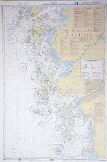 Marstrand-Gothenburg-Tistlarna Chart 112x77 cm