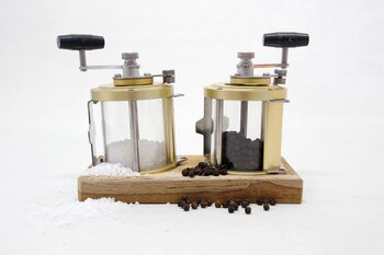 Fishing Reel Salt and Pepper Mill Set