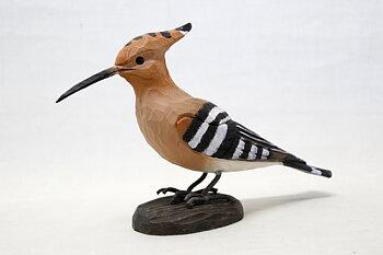 Härfågel Trä 24x16 cm