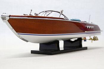 Riva Aquarama båtmodell 42x13 cm