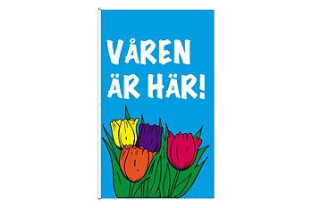 Våren flagga 250x150 cm
