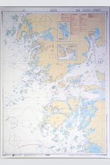 Marstrand Chart 112x77 cm