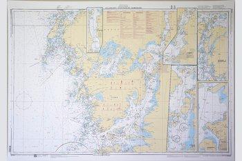 Gullholmen-Stenungsund-Marstrand Chart 77x112 cm