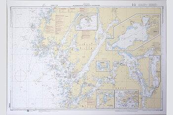 Hunnebostrand-Uddevalla-Gullholmen Chart 77x112 cm