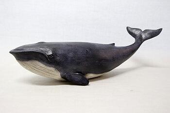 Blue whale model 50x18 cm
