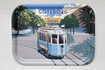 Tram Tray 27x20 cm