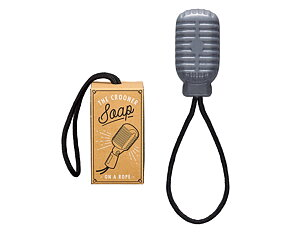 Soap Microphone Shaped