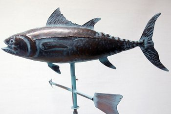 Weather vane Tuna 95x75 cm