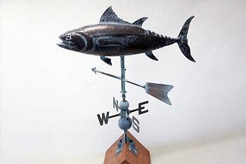 Vindflöjel Tonfisk 95x75 cm