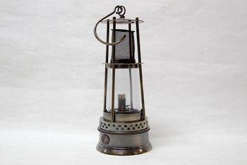 Mining Lantern Bronze Brass 26 cm