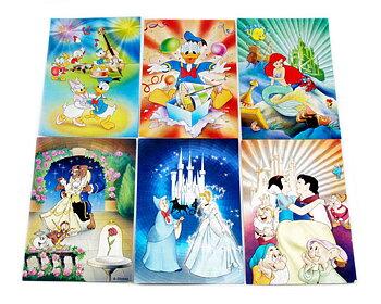 Vykort DISNEY METALLICA 21 st olika Disneykort