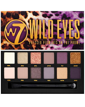 W7 Wild/Leopard Eyes Pressed Pigments Palette-On The Prowl