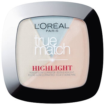 L'Oréal Paris True Match Powder Glow Illuminating Highlighter –302.R/C - Icy Glow & Rosé Glacé Glow