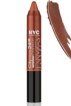 NYC City Proof 24H Waterproof Eyeshadow Stick-Wall Street Bronze